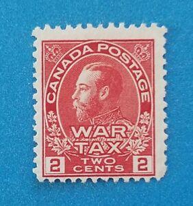 Canada Scott #MR2 MNG clean stamp, good colors, perfs.