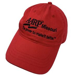 Aarp Missouri Potenza per Far It Better Cappellino Regolabile Baseball Adulti