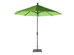 Shelta Rio 2.7m Octagonal Garden Market Bright Tilt Umbrella Lime Green