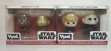 Funko Vynl  Star Wars Luke Skywalker, Darth Vader, Chewbacca, and C-3PO Bundle