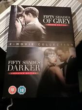 Fifty Shades Darker & Fifty Shades of Grey Darker (DVD  2018) Cert 18