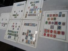 Nystamps Mexico old stamp collection Scott page with many better