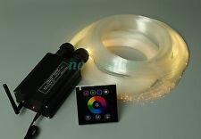 DIY star night light 32w RGB led fiber optic light home ceiling touchpad control