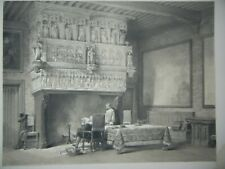 DAY & HAGUE LOUIS HAGHE LITHOGRAPH 1840 COUNCIL ROOM COURT RAY BELGIUM GERMANY