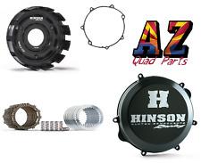 Yamaha YFZ450 YFZ 450 Hinson Billet Clutch Basket Fibers Cover Gasket 04 05 06