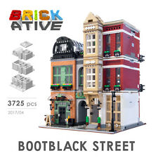 Lego Custom Modular Building *BOOTBLACK STREET* INSTRUCTIONS ONLY! instruction