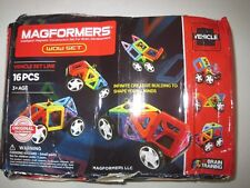 Magformers Wow Set 16 pcs., DAMAGED , READ!