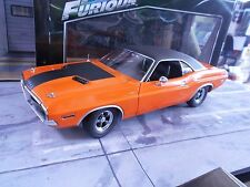 DODGE Challenger R/T Darden´s 1970 ora Fast & Furious Muscle Car Greenlight 1:18