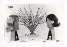 PHOTO MANNEQUIN FEMME NOVITA SIÉGEL Surréalisme Surréaliste 1960 Tête Coiffure