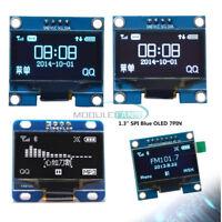 "1.3"" IIC/SPI Serial 128X64 OLED LCD Display Screen Module For Arduino Blue/White"