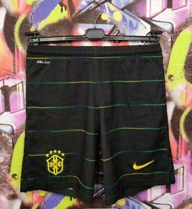 Brazil National Football Team 2014 Third CBF Soccer Shorts Nike Mens size S
