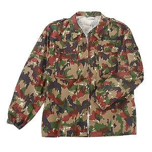 Genuine Swiss Army Issue M83 Alpenflage Camo Field Jacket UNUSED