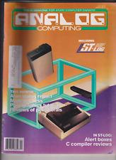 Analog Computing Atari Mag ST Log & Alert Boxes November 1986 010920nonr