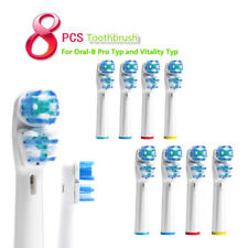 8 PCS Toothbrush Heads Replacement for Electric Tooth Brush Vitality 06
