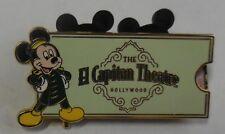 Disney Pin El Capitan Theatre Ticket Pin Maleficent From Sleeping Beauty LE500
