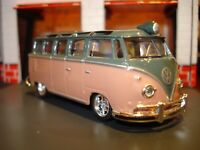 1959 MICROBUS VW WINDOW BUS LIMITED EDITION DELUXE VOLKSWAGEN 1/64 M2 CRUISER