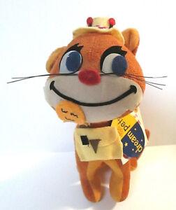 """Dream Pets Fish N Chips Dakin Kitty CAT Velveteen #45911 #23 Reprod. Retro 6.5"""""""
