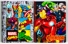 2 NEW Marvel Avengers 1 Subject Notebooks For Back To School Hulk Iron Man Thor