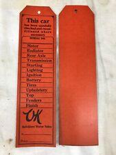 Orange Chevrolet Auto Advertising for sale | eBay