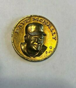 1969 Baseball Citgo Coin   DAVE McNALLY
