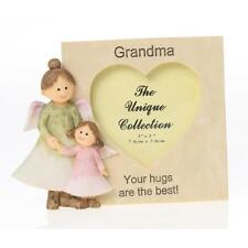 Grandma Angel Resin Photo Frame Gift With Scripts Boxed 3 x 3 65574