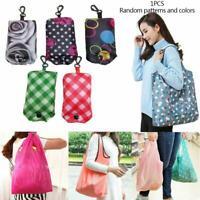 Faltbare handliche einkaufstaschen wiederverwendbare einkaufstasche recycle v