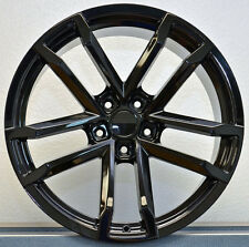 "Set of 4 NEW 20x10"" 2010-13 Camaro Style 41 ZL1 Replica Wheels Rims Gloss Black"