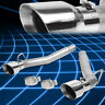"""For 10-15 Chevy Camaro 6.2 4.5"""" Muffler Tip Stainless Race Axle Cat Back Exhaust"""