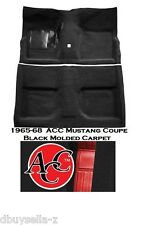 1965 - 1968 Mustang Carpet Molded 2 Piece Coupe 100% Nylon RED CARPET - ACC