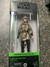 "STAR WARS The Black Series LUKE SKYWALKER (ENDOR) 6"" Action Figure - IN HAND"