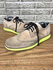 Cole Haan Lunargrand Tan Yellow Oxfords Shoes Sz 8 M 372