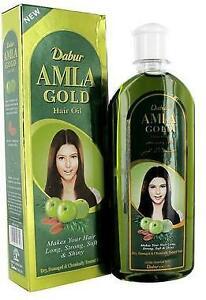 200ml Dabur Amla GOLD Hair Oil For Dry Damage Weak Hair Almond Amla+free Gift