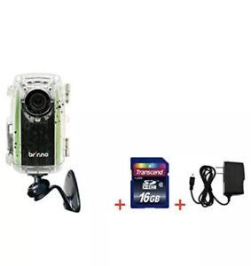 Brinno Construction Camera BCC100 + Free 16GB SD Card + Power Supply