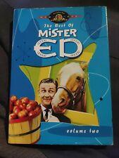 THE BEST OF MISTER ED VOLUME TWO 2 DVD SET MR. ED TALKING HORSE SLIPCOVER