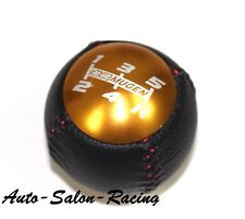 MUGEN LEATHER GOLD Shift Knob for Honda CRZ CIVIC ACCORD S2000 FA5 FD2 FG2 SI