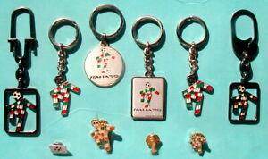 1990 Italy Bertoni Collection FIFA soccer football World Cup KEYRINGS & PINS
