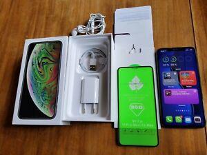 Apple iPhone XS Max - 64GB - Gris Espacial (Libre) (Dual SIM) 96% BATERÍA