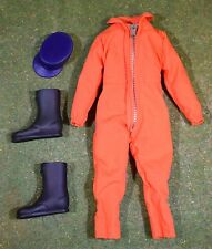 VINTAGE ACTION MAN 40th LOOSE UNIFORM CAP & BOOTS FROM ACTION PILOT