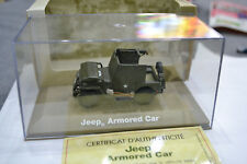 VOITURE MINIATURE 1/43  JEEP  ARMORED CAR