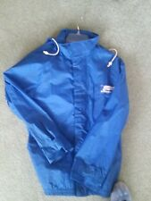 Vintage Rain Suit Hondaline Size Large Blue 2 Piece Waterproof