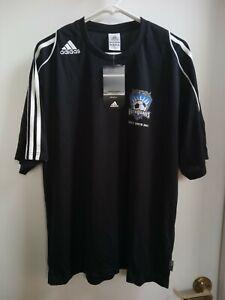 San Jose Earthquakes Tryout Tour Adidas Jersey Kit Shirt XL