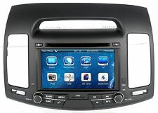 In Dash Car Stereo BT Radio 2 Din DVD Player GPS Navigation For Hyundai Elantra