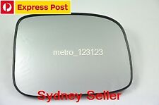 RIGHT DRIVER SIDE HOLDEN RODEO 2003-2008 MIRROR GLASS WITH BACK PLATE