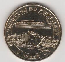 A 2010 TOKEN MEDAILLE SOUVENIR MDP -- 75 001 N°17 VEDETTE DU PONT-NEUF PARIS