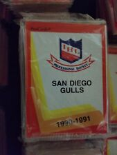 1990-91 Pro Cards IHL SAN DIEGO GULLS Hockey Team Set Sealed