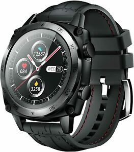 SMARTWATCH CUBOT C3 1.3 POLLICI TOUCH NERO UOMO DONNA FITNESS IOS ANDROID NUOVO