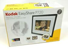 "Kodak EasyShare P720 DIGITAL FRAME Quick Touch Border 7"" 100 % COMPLETE IN BOX"