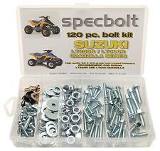 120pc Bolt Kit Suzuki LT250R LT500R ATV QUADZILLA fenders plastics engine pipe