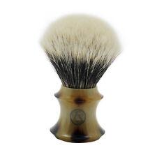 Frank Shaving Density Finest Badger Hair Shaving Brush with Faux Horn Handle