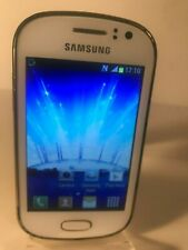 Samsung Galaxy Fame GT-S6810P - 4GB - White Unlocked) Smartphone Mobile